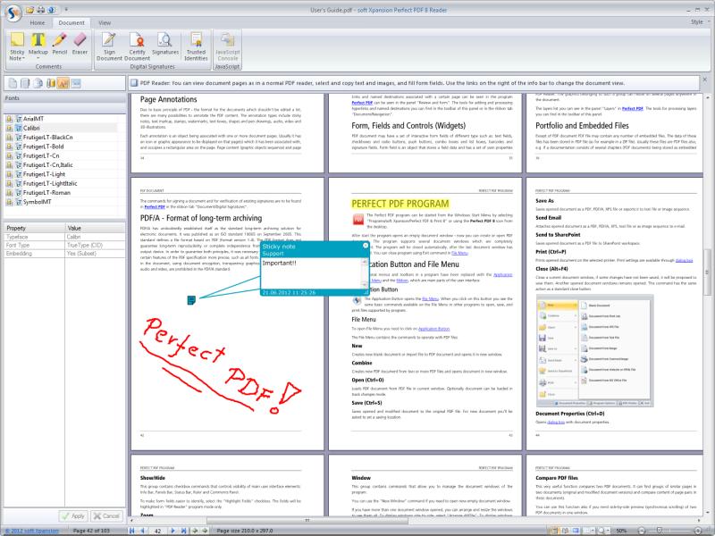 Perfect PDF Reader 8.1 full