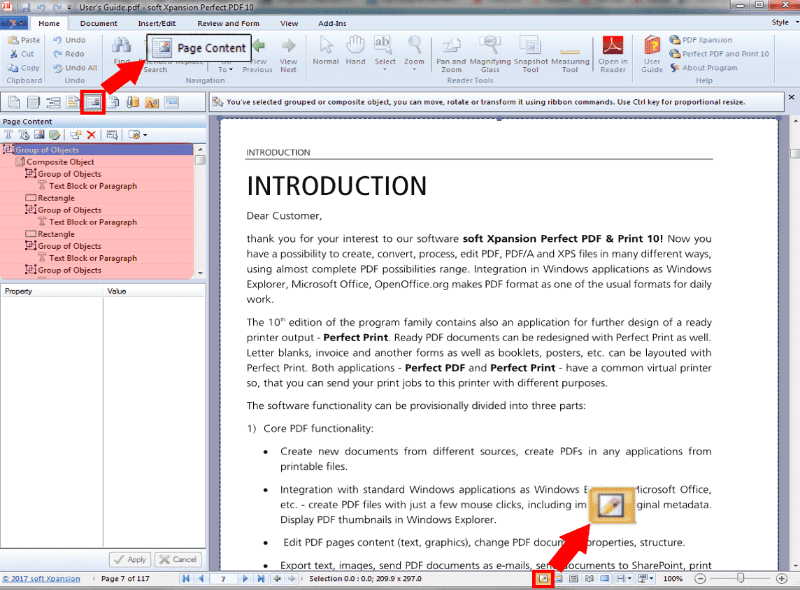 How to edit PDF files with Perfect PDF