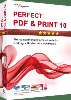 Perfect PDF & Print 10 3D