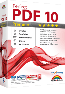 Edit PDF or XPS files with Perfect PDF 10 Premium